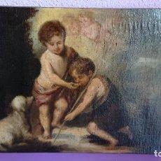 Arte: ÓLEO SOBRE LIENZO LOS NIÑOS DE LA CONCHA MURILLO. Lote 122989067