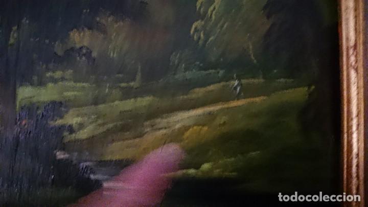 Arte: ÓLEO SOBRE LIENZO SIGLO XVIII ESCUELA HOLANDESA GRAN TAMAÑO - Foto 4 - 122990087