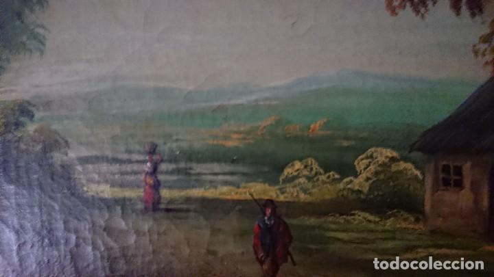 Arte: ÓLEO SOBRE LIENZO SIGLO XVIII ESCUELA HOLANDESA GRAN TAMAÑO - Foto 7 - 122990087