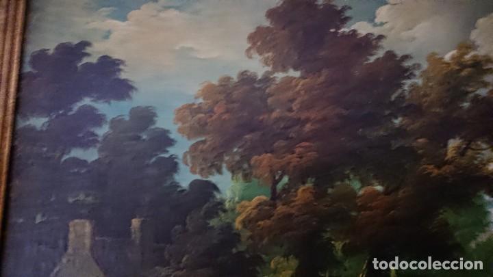 Arte: ÓLEO SOBRE LIENZO SIGLO XVIII ESCUELA HOLANDESA GRAN TAMAÑO - Foto 11 - 122990087