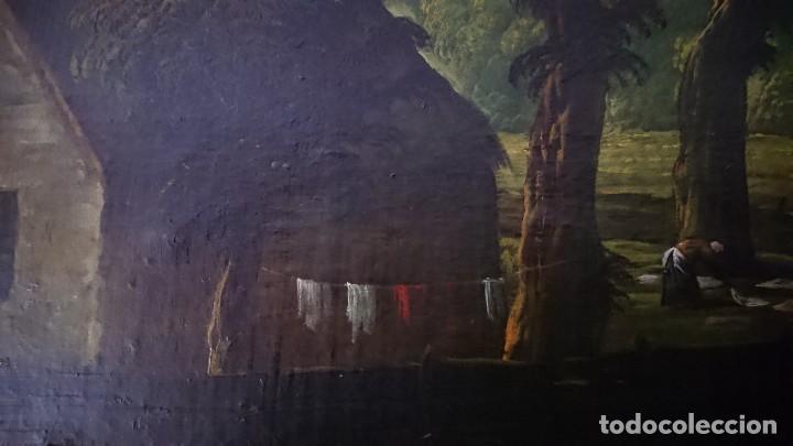 Arte: ÓLEO SOBRE LIENZO SIGLO XVIII ESCUELA HOLANDESA GRAN TAMAÑO - Foto 14 - 122990087