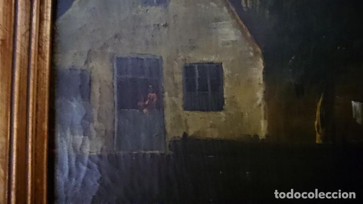 Arte: ÓLEO SOBRE LIENZO SIGLO XVIII ESCUELA HOLANDESA GRAN TAMAÑO - Foto 15 - 122990087
