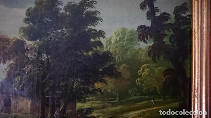 Arte: ÓLEO SOBRE LIENZO SIGLO XVIII ESCUELA HOLANDESA GRAN TAMAÑO - Foto 17 - 122990087