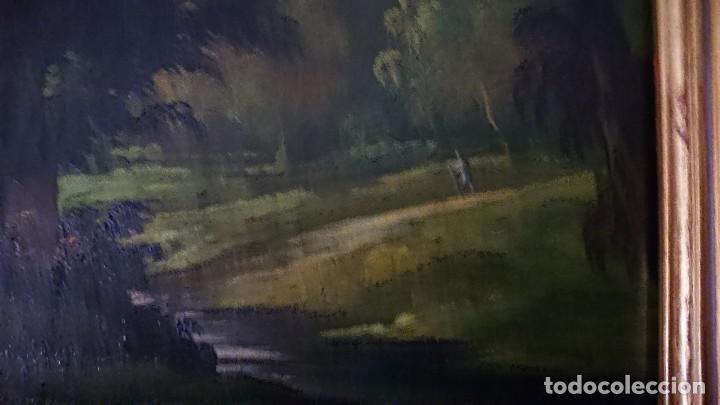 Arte: ÓLEO SOBRE LIENZO SIGLO XVIII ESCUELA HOLANDESA GRAN TAMAÑO - Foto 18 - 122990087
