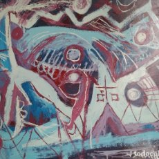 Arte: FIRMADO J. SABATÉ. ÓLEO SOBRE CARTULINA. (POSIBLEMENTE: JOAQUIM SABATÉ I NADAL). Lote 123042543