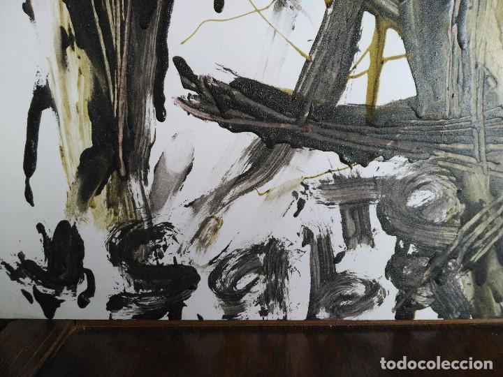 Arte: FIRMADO J. SABATÉ. ÓLEO SOBRE CARTULINA (POSIBLEMENTE JOAQUIM SABATÉ I NADAL) - Foto 2 - 123042855