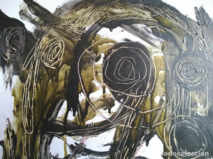 Arte: FIRMADO J. SABATÉ. ÓLEO SOBRE CARTULINA (POSIBLEMENTE JOAQUIM SABATÉ I NADAL) - Foto 4 - 123042855