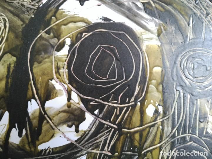 Arte: FIRMADO J. SABATÉ. ÓLEO SOBRE CARTULINA (POSIBLEMENTE JOAQUIM SABATÉ I NADAL) - Foto 5 - 123042855