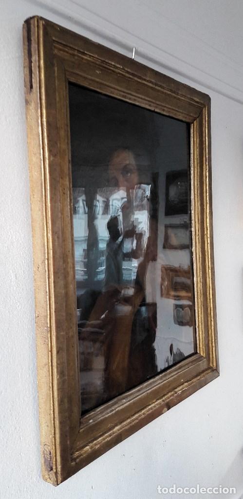 Arte: Óleo sobre lienzo del siglo XVIII representando a San Pedro - Foto 4 - 123099371