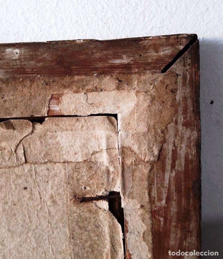 Arte: Óleo sobre lienzo del siglo XVIII representando a San Pedro - Foto 11 - 123099371