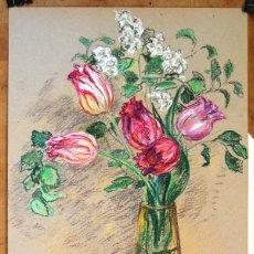 Arte: TULIPANES. Lote 123134955