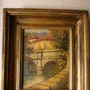 Arte: PAISAJE AL OLEO DE GRAN CALIDAD . SIGLO XIX .. Lote 123344555