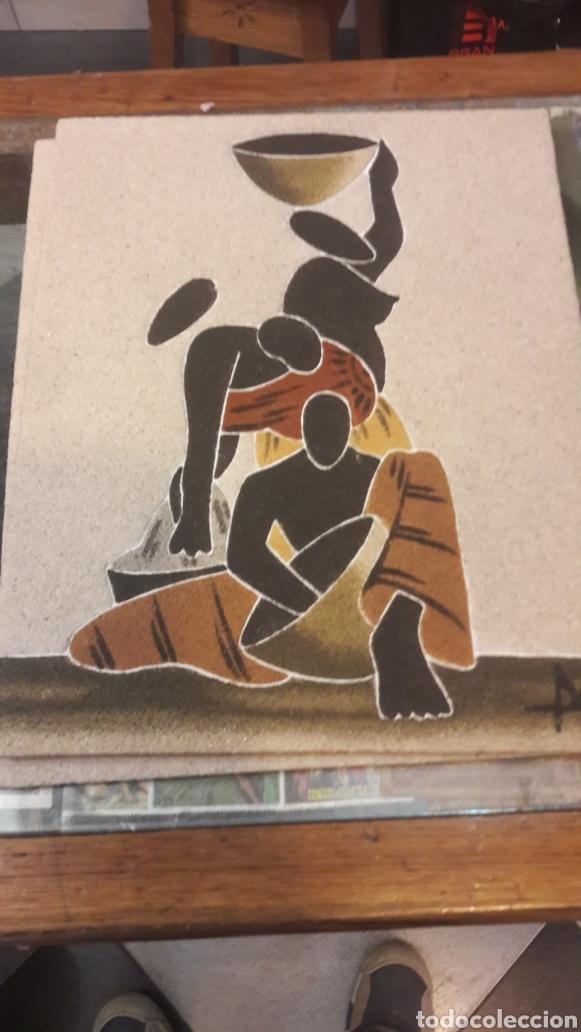 ARTE AFRICANO POPULAR 2 CUADROS (Arte - Pintura - Pintura al Óleo Contemporánea )