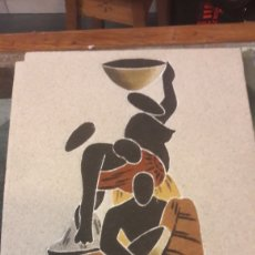 Arte: ARTE AFRICANO POPULAR 2 CUADROS. Lote 123371462