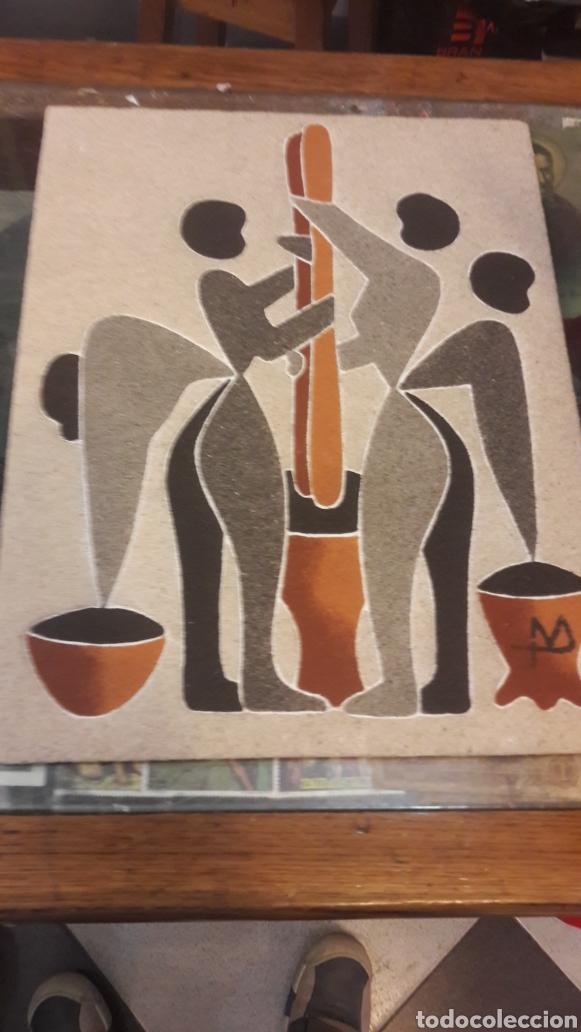 Arte: Arte Africano popular 2 cuadros - Foto 2 - 123371462