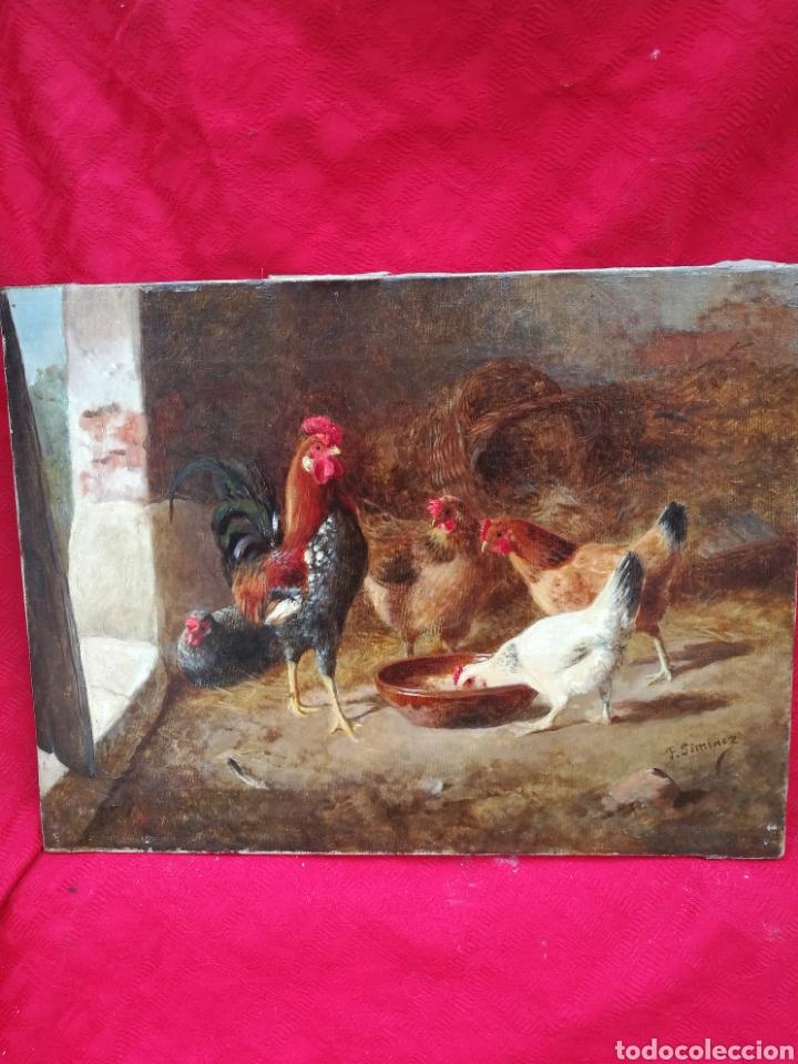CUADRO ÓLEO FEDERICO JIMÉNEZ (Arte - Pintura - Pintura al Óleo Moderna siglo XIX)