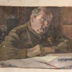 Arte: RETRATO DE GEORGIY FEDOROVICH ZAKHAROV (1897-1957) SIN FIRMAR (¿POR EL MILITAR N F LEDYANKO?). Lote 123399543