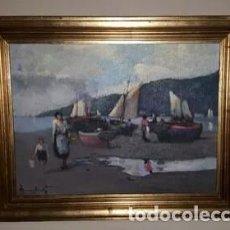 Arte: OLEO MANUEL CASANOVA VICUÑA ORIGINAL. Lote 123400059