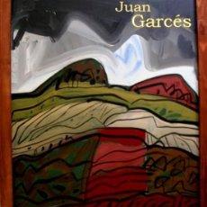 Arte: OBRA DE COLECCIÓN - JUAN GARCES - TORMENTOSO CAMPO CASTELLANO - ÓLEO / TABLA 55 X 46 CM. Lote 121871355