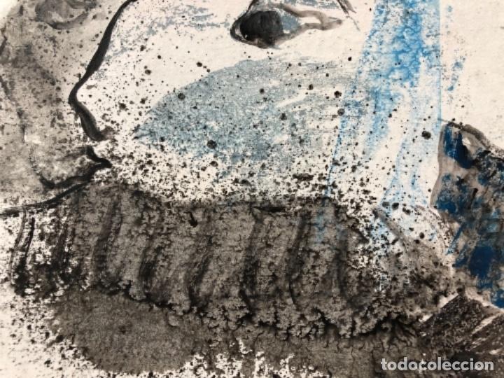 ACRILICO ÓLEO ORIGINAL SOBRE CARTULINA FIRMADO CASACUBERTA 76, 24X24 CM SIN ENMARCAR. (Arte - Pintura - Pintura al Óleo Contemporánea )