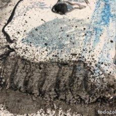 Arte: ACRILICO ÓLEO ORIGINAL SOBRE CARTULINA FIRMADO CASACUBERTA 76, 24X24 CM SIN ENMARCAR.. Lote 123456823