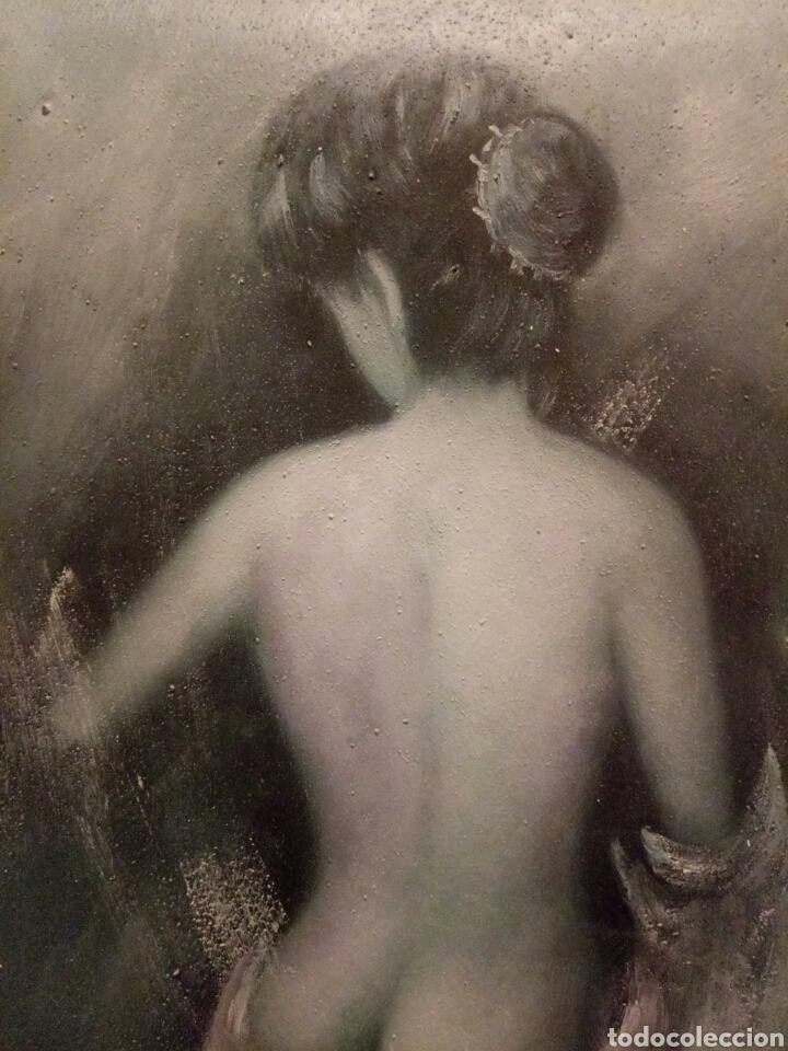 Arte: MUY BONITO DESNUDO,Oleo sobre lienzo - Foto 2 - 123544107