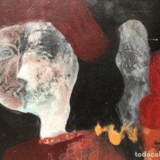 Arte: ÓLEO ACRILICO SOBRE CARTULINA ORIGINAL FIRMADO CASACUBERTA 77 SIN ENMARCAR 25X32 CM . Lote 123551551