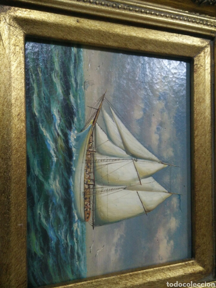 Arte: Cuadro al oleo A D - Foto 4 - 123569479