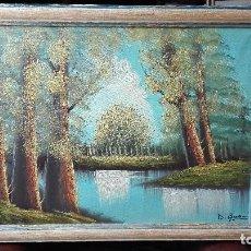 Arte: PAISAJE FIRMADO:DI GROVANI OLEO SOBRE LIENZO.. Lote 123594359
