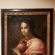 Arte: CUADRO ITALIANO ÓLEO SOBRE LIENZO SIGLO XVI DOMENICO PULIGO. Lote 123879492