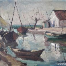 Arte: PASCUAL ROCH MINUÉ - IBIZA - ÓLEO. Lote 123970155
