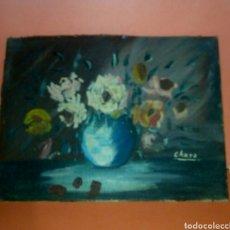Arte: OLEO SOBRE CARTON FIRMADO. Lote 124068863