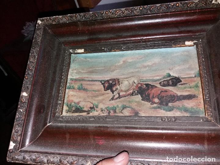 Arte: cuadro toros - Foto 3 - 69787065