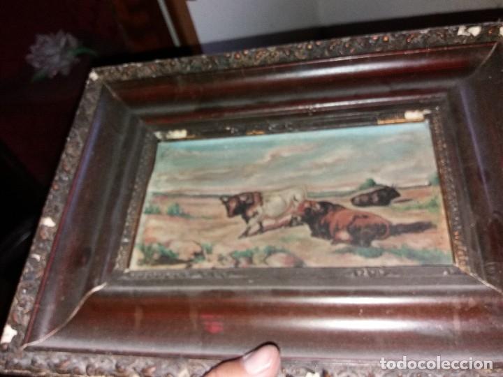 Arte: cuadro toros - Foto 4 - 69787065