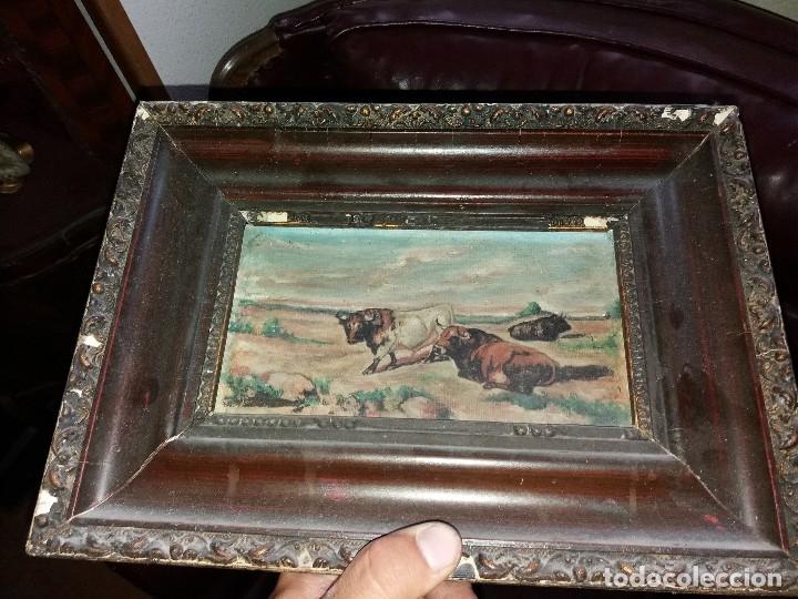 Arte: cuadro toros - Foto 8 - 69787065