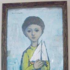 Arte: JOSEP SANTIÁÑEZ I OLIVER (BARCELONA, 1922). Lote 124377399