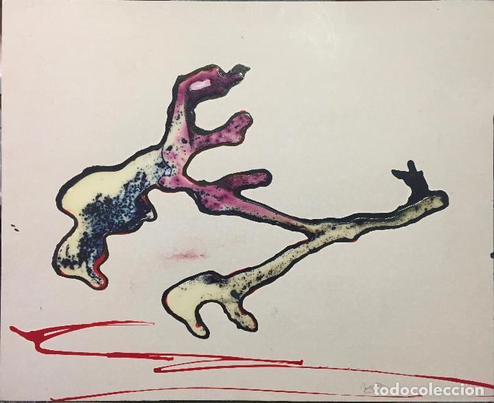 Arte: GERARDO DELGADO . PINTURA ORIGINAL , ABSTRACCIÓN , ACRILICO , FIRMADO 1988 , SEVILLA - Foto 7 - 124435147