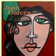 Arte: GITANA CON PEINETA VERDE - JUAN GARCÉS.. Lote 124543435