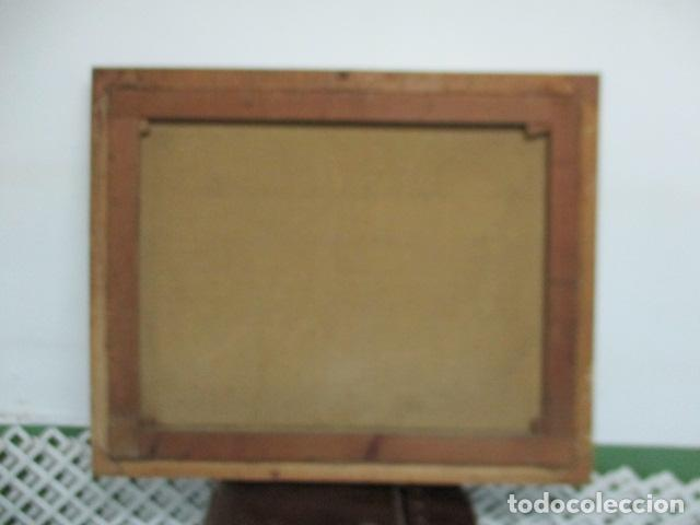 Arte: Precioso oleo sobre tela de pintor ATANA - año 1960. 103 cm x 84 cm - Foto 12 - 124568847