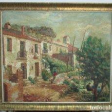 Arte: OLEO SOBRE TABLA SIN FIRMA. (VER FOTOS.). Lote 124569359
