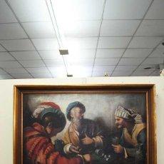 Arte: PINTURA ÓLEO SOBRE LIENZO ESCUELA ESPAÑOLA. Lote 124590627