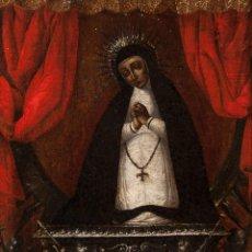 Arte: ÓLEO S/LIENZO ENMARCADO, CÍRCULO DE ALONSO DEL ARCO, S. XVII (MADRID 1635-1704). DIM.- 51X41 CMS . Lote 125231131