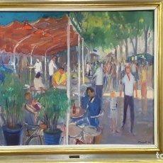 Arte: JOSEP POMÉS ( PINTOR DE TARRAGONA ) 1940. Lote 125249423