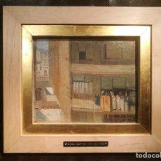 Arte: VISTA URBANA ATRIBUIDA A ELISEU MEIFREN (1859-1940). Lote 125433519