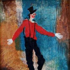 Arte: RAMÓN LAPAYESE (MADRID 1928-MIAMI 1994) ( CIRCO / EN PISTA ). Lote 125444539