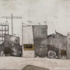 Arte: LAURA LACHE (MADRID 1976) PAISAJE URBANO.. Lote 125824135