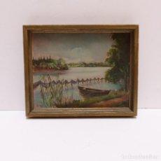 Arte: PINTURA AL ÓLEO SOBRE MADERA. 1941. Lote 125857019