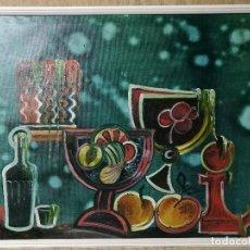 Arte: ÓLEO BODEGON - EXPRESIONISMO - FIRMADO L.GARRIDO - 88 X 75 CM . Lote 125875843