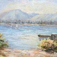 Arte: OLEO SOBRE TABLA .FIRMADO. Lote 101138839