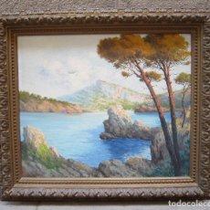 Arte: M. FORTEZA - SOL DE TARDOR, MANACOR, MALLORCA. PINTURA AL ÓLEO SOBRE TELA. 80X70CM. Lote 125898143